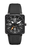 Bell and Ross Aviation BR 01 46 MM Watch BR01-93 GMT 24 H