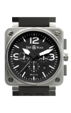 Bell and Ross Aviation BR 01 46 MM Watch BR01-94 Steel