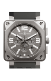 Bell and Ross Aviation BR 01 46 MM Watch BR01-94 Titanium Carbon