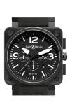 Bell and Ross Aviation BR 01 46 MM Watch BR01-94 Carbon