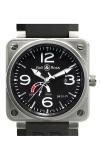 Bell and Ross Aviation BR 01 46 MM Watch BR01-97 Reserve De Marche
