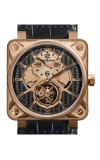 Bell and Ross Aviation BR 01 46 MM Watch BR01 Tourbillion Pink Gold