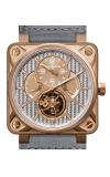 Bell and Ross Aviation BR 01 46 MM Watch BR01 Tourbillion Gold
