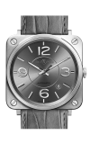 Bell and Ross BR S MECANIQUE BR S Officer Ruthenium