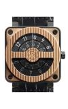 Bell & Ross BR 01 Flight Instruments Watch BR01 92 Compass Gold Carbon