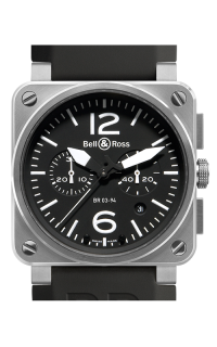 Bell and Ross BR 03-94 Chronographe BR03-94 Steel