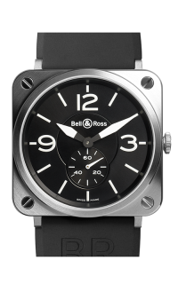 Bell and Ross BR S QUARTZ BR S Steel