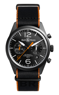 Bell and Ross BR 126 BR 126 Carbon Orange