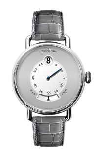 Bell and Ross Vintage WW1 Heure Sautante WW1 Heure Sautante Platinum