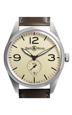 Bell and Ross Vintage BR Automatic Watch BR123 Original Beige