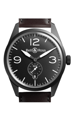 Bell and Ross Vintage BR Automatic Watch BR123 Original Carbon