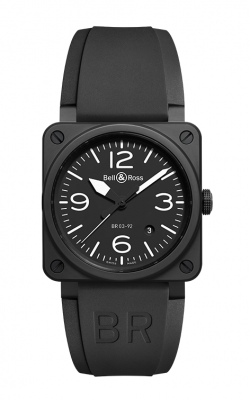 Bell and Ross Aviation BR 03 42 MM Watch BR03-92 Carbon