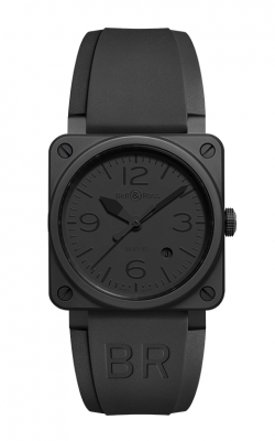 Bell and Ross Aviation BR 03 42 MM Watch BR03-92 Phantom