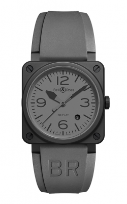 Bell and Ross Aviation BR 03 42 MM Watch BR03-92 Commando product image