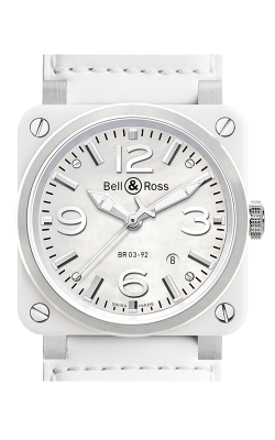 Bell and Ross Aviation BR 03 42 MM Watch BR03 White Ceramic