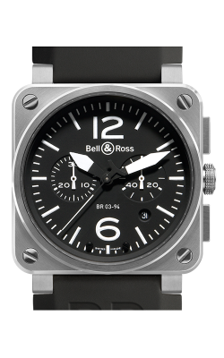 Bell and Ross Aviation BR 03 42 MM Watch BR03-94 Steel product image