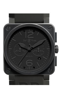 Bell and Ross Aviation BR 03 42 MM Watch BR03-94 Phantom