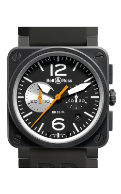 Bell and Ross Aviation BR 03 42 MM Watch BR03-94 Black&White