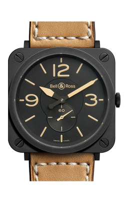 Bell and Ross Aviation BR S 39 MM Watch BR S Heritage