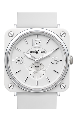 Bell and Ross Aviation BR S 39 MM Watch BR S White Ceramic
