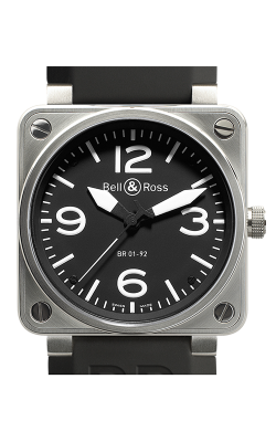 Bell and Ross Aviation BR 01 46 MM Watch BR01-92 Steel