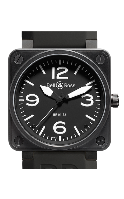 Bell and Ross Aviation BR 01 46 MM Watch BR01-92 Carbon