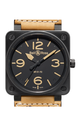 Bell and Ross Aviation BR 01 46 MM Watch BR01-92 Heritage