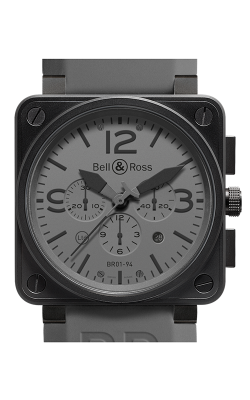 Bell and Ross Aviation BR 01 46 MM Watch BR01-94 Commando