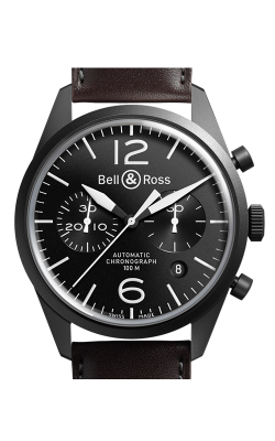 Bell and Ross Vintage Chronograph Watch BR 126 Original Carbon
