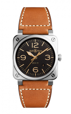 Bell and Ross Aviation BR 03 42 MM Watch BR03-92 Golden Heritage