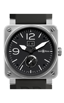 Bell and Ross Aviation BR 03 42 MM Watch BR 03-90 Grande Date and Reserve De Marche