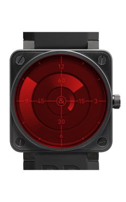 Bell & Ross BR 01 Flight Instruments Watch BR 01 Red Radar