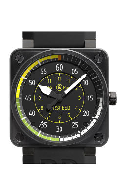 Bell & Ross BR 01 Flight Instruments Watch BR 01 Airspeed