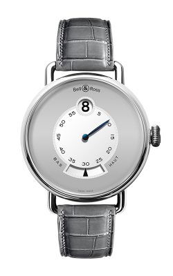 Bell and Ross Vintage Watch WW1 Heure Sautante Platinum product image