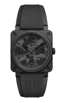 Bell and Ross Instruments BR 03 42 MM Watch BR 03-92 Black Camo product image