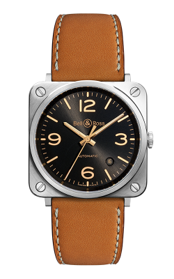 Bell and Ross Instruments BR S 39 MM Watch BR S Golden Heritage product image