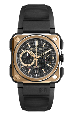 Bell and Ross Instruments BR-X1 Watch BR-X1 Rose Gold & Ceramic product image