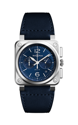 Bell and Ross Instruments Watch BR03-94 Blue Steel product image