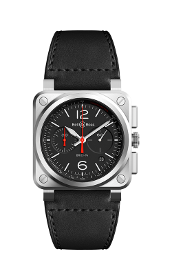 Bell and Ross Instruments Watch BR03-94 Black Steel product image
