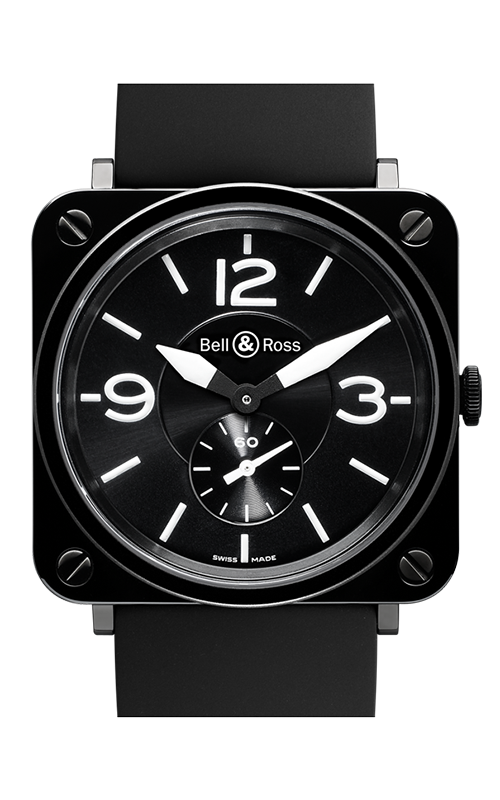 Bell and Ross Aviation BR S 39 MM Watch BR S Black Ceramic product image