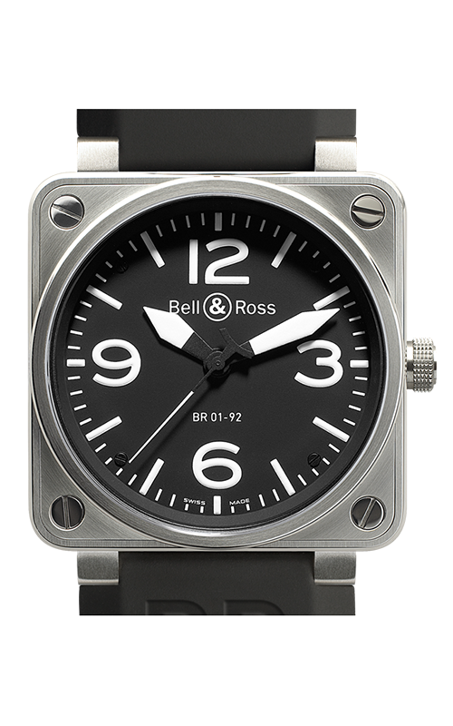 Bell and Ross Aviation BR 01 46 MM Watch BR01-92 Steel  product image
