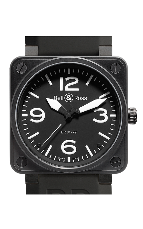 Bell and Ross Aviation BR 01 46 MM Watch BR01-92 Carbon product image