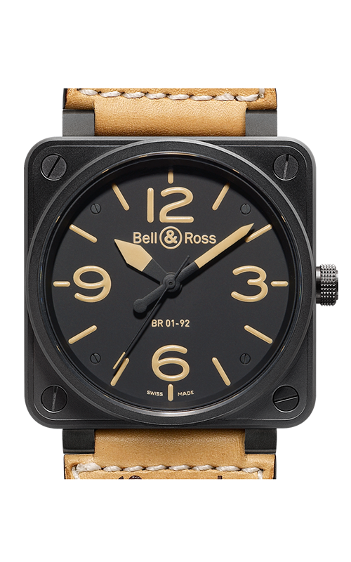 Bell and Ross Aviation BR 01 46 MM Watch BR01-92 Heritage product image