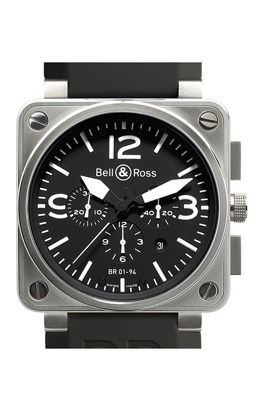 Bell and Ross Aviation BR 01 46 MM Watch BR01-94 Steel product image