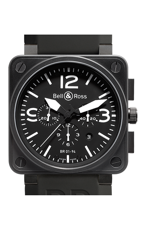 Bell and Ross Aviation BR 01 46 MM Watch BR01-94 Carbon product image
