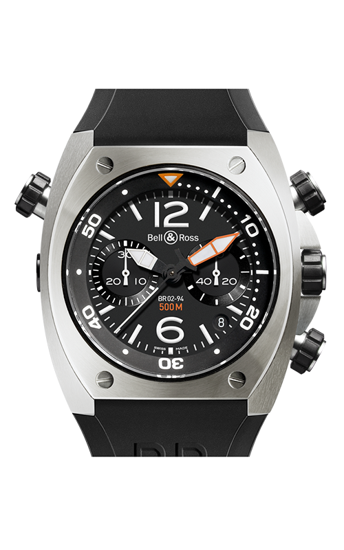 Bell and Ross Marine Watch BR02-94 Steel product image
