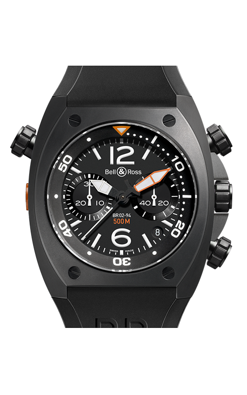 Bell and Ross Marine Watch BR02-94 Carbon product image
