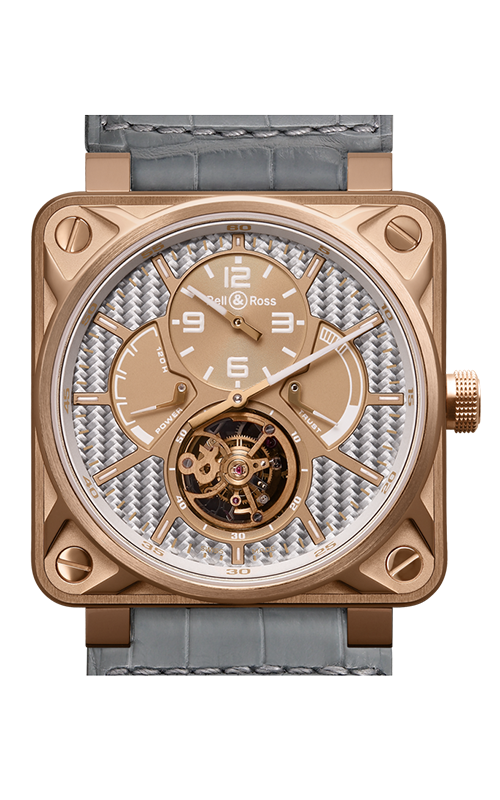Bell and Ross Aviation BR 01 46 MM Watch BR01 Tourbillion Gold product image