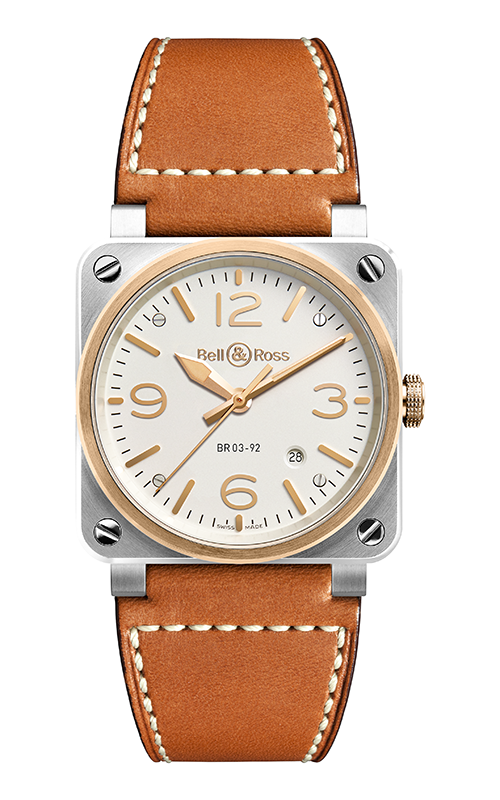 Bell and Ross Instruments Watch BR 03-92 Steel & Rose Gold product image
