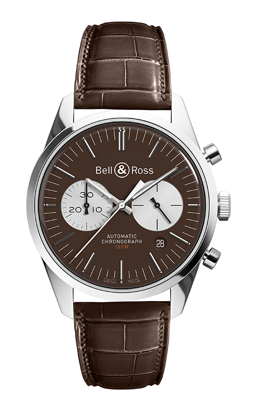 Bell and Ross Vintage Watch BR 126 Officer Brown product image